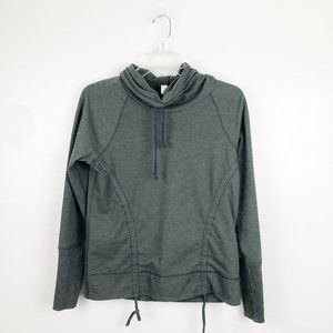 Lucy Activewear | Funnel Cowl Neck Hoodie Pullover